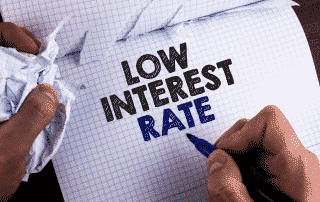 Falling interest rates and your investments